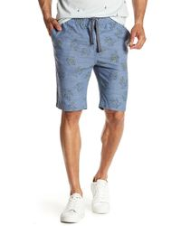 Sovereign Code - Plot Printed Shorts - Lyst