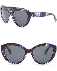 Joe's Jeans - Polarized Cat Eye 56mm Sunglasses - Lyst