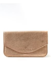 Aimee Kestenberg Miami Leather Flat Envelope Wallet - Multicolor