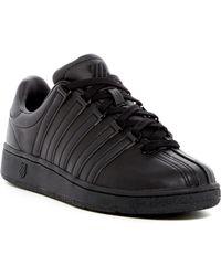 K-swiss Classic Athletic Sneaker - Black