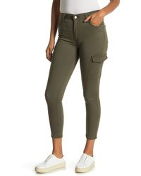 Levi's 721 Skinny Crop Utility Pants - Green