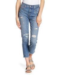 Levi's - Wedgie Icon Fit Skinny Jeans - Lyst