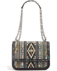 Chelsea28 - Dahlia Embroidered Faux Leather Crossbody Bag - Lyst