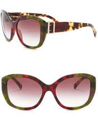Burberry - 57mm Oversized Sunglasses - Lyst