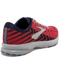 Brooks Launch 6 Running Sneaker - Red