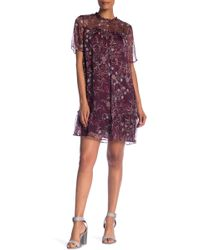 Cece by Cynthia Steffe - Floral Mystery Shift Dress (plus Size) - Lyst