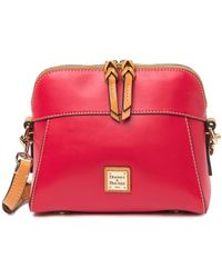 Dooney & Bourke Cameron Leather Crossbody Bag - Red