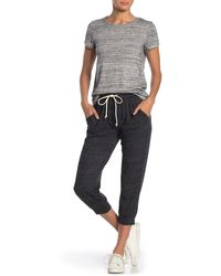 Alternative Apparel Eco Crop Jogger Lounge Pants - Black