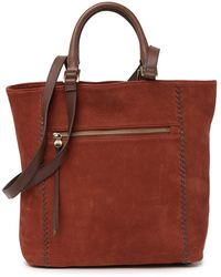Hobo International Ballad Whipstitched Leather Tote Bag - Multicolor