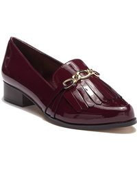 Tahari - Lively Leather Loafer - Lyst