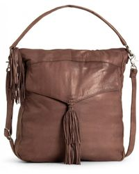Day & Mood Etty Leather Hobo Bag - Brown