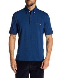 Thomas Dean - Garment Dye Short Sleeve Knit Tee - Lyst