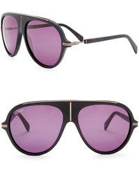 Balmain - 60mm Shield Sunglasses - Lyst