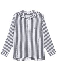 Onia Kai Hooded Shirt - Blue