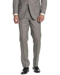 """Brooks Brothers - Grey Patterned Regent Fit Wool Suit Separates Trouser - 30-34"""" Inseam - Lyst"""