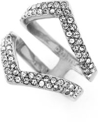 Botkier - Crystal Pave Ring - Size 7 - Lyst
