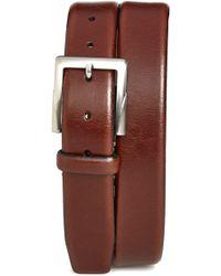 Trafalgar 'rafferty' Leather Belt - Brown