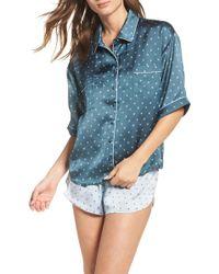 Chelsea28 - Short Satin Pyjamas - Lyst