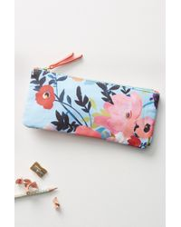 Anthropologie - Picturesque Florals Pencil Pouch - Lyst