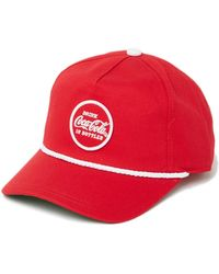 6c467f241fe60 American Needle Seattle Rainiers Archive Ball Cap in Red for Men - Lyst