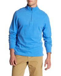 Brooks Brothers - Cotton Jersey Half Zip Pullover - Lyst