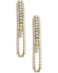 Sandy Hyun - Drape Earrings - Lyst
