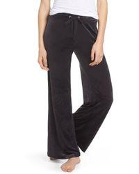 Make + Model - Paris Wide Leg Velour Trousers - Lyst