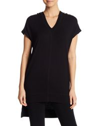 Marc New York - Hi-lo Hooded Tunic - Lyst