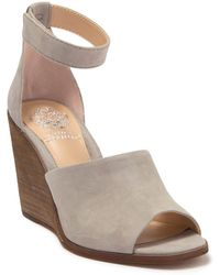 Vince Camuto Deedriana Wedge Sandal - Gray