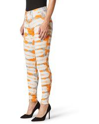 Hudson Jeans Barbara High Waist Super Skinny Jeans - Orange
