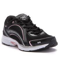 Ryka Sky Walk Sneaker- Wide Width Available - Black