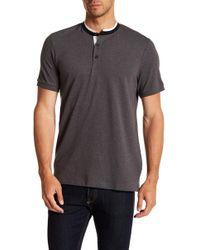 Kenneth Cole - Collar Knit Shirt - Lyst