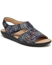 Naturalizer Scout Leather Sandal - Blue