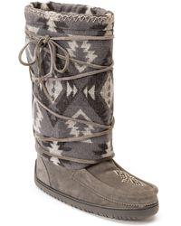 Manitobah Mukluks - Wool Lace-up Mukluk - Lyst