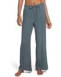 Lacausa - Vela Stripe Lounge Pants - Lyst
