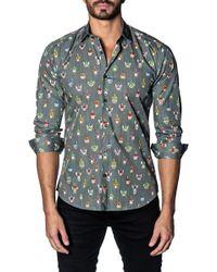 Jared Lang - Animal Print Shirt - Lyst
