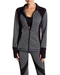 Betsey Johnson - Texture Knit Performance Jacket - Lyst