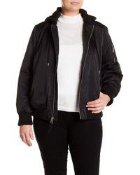 Levi's - Hooded Bomber Jacket (plus Size) - Lyst