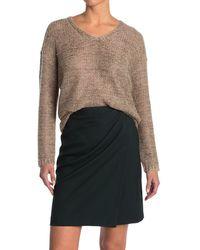 Reiss Jasmine Metallic V-neck Sweater - Multicolour