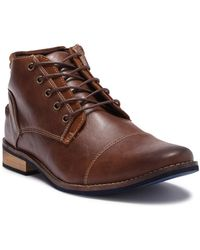 Deer Stags Rhodes Cap Toe Chukka Boot - Wide Width Available - Brown