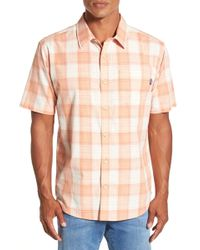 Jack O'neill - Bolsa Regular Fit Short Sleeve Plaid Sport Shirt - Lyst