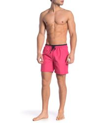 1e9a352ade Ezekiel Bali Swim Trunks in Black for Men - Lyst