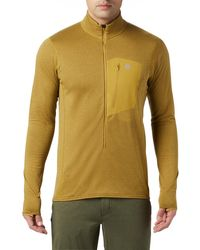 Mountain Hardwear Type 2 Fun 3/4 Zip Jacket - Yellow