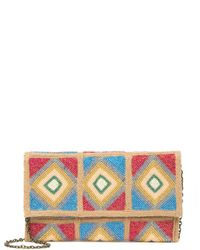 G-Lish Beaded Clutch - Multicolor