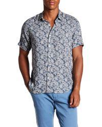 JEFF - Boca Short Sleeve Tailored Fit Shirt - Lyst
