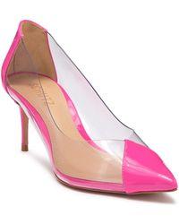 Schutz S Garthy Transparent/neon Pink Vinil/verniz Ne 5 M