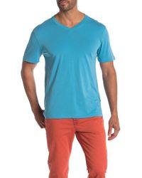 Agave - Solid V-neck Tee - Lyst