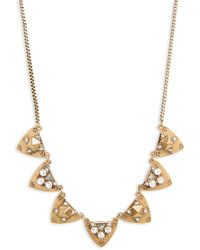 Treasure & Bond - Frontal Crystal Necklace - Lyst