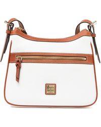 Dooney & Bourke Piper Leather Shoulder Bag - White