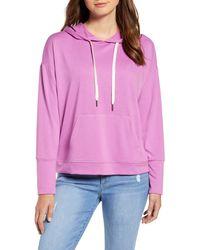 Caslon (r) Hoodie Sweatshirt - Pink
